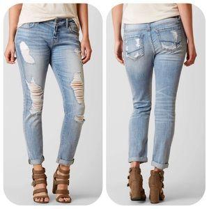 BKE Stella MidRise Slouchy Relaxed Boyfriend Jeans